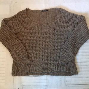 Brandy Melville wool blend chunky knit sweater